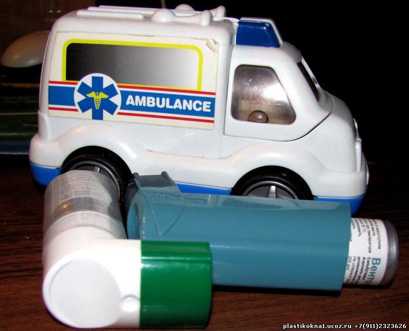 Экстренная помощь при приступе бронхиальная астма